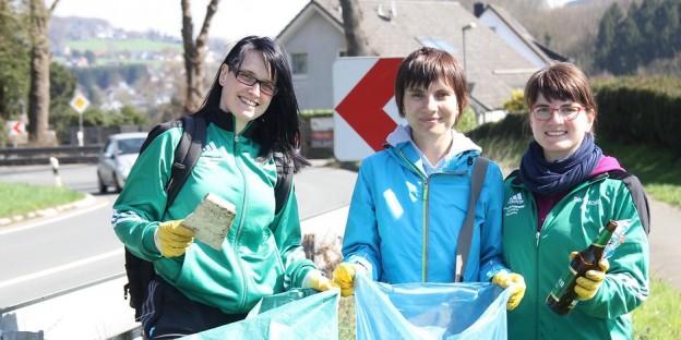 Katharina, Daria und Nadine (Team Volleyball)